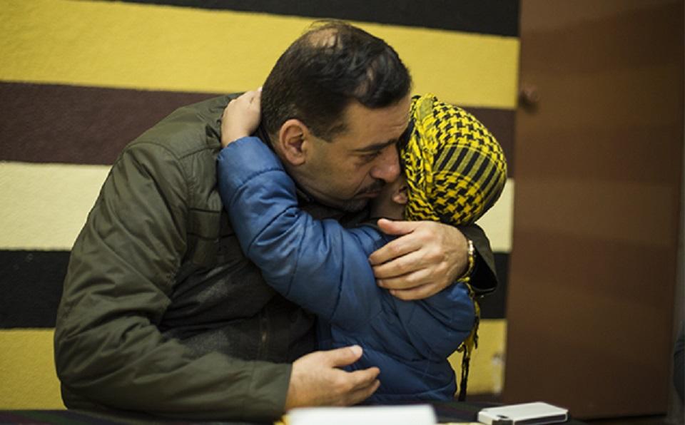 Khaldoun pudo rescatar a su hermano Said y su familia, pero ha perdido casi 30 familiares en la guerra de Siria. (Crédito: CNNExpansión/Jesús Almazán)
