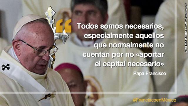 papa francico guadalupe