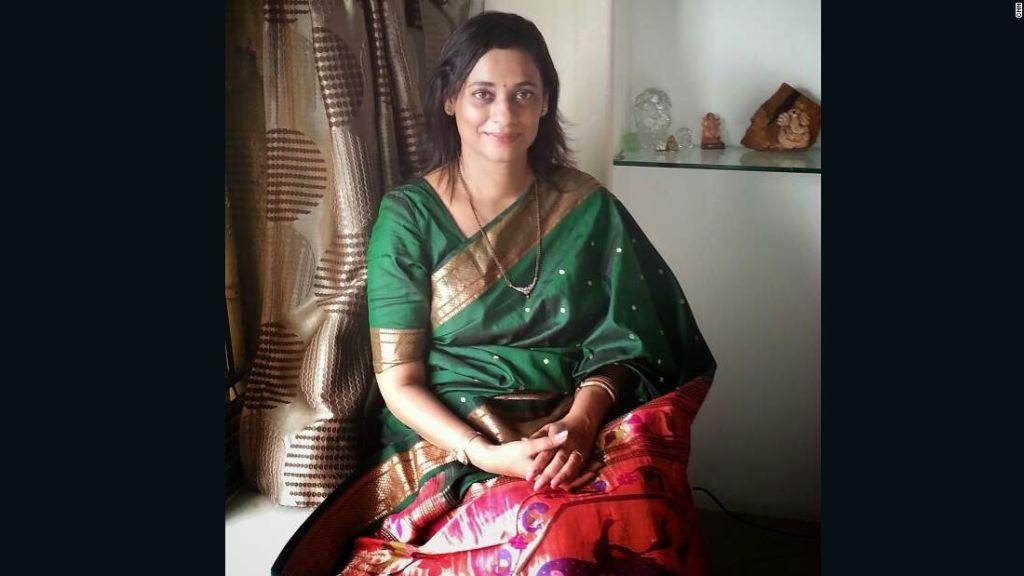 Sangeet Mhatre, quien ha adoptado el compromiso #100sareepact.