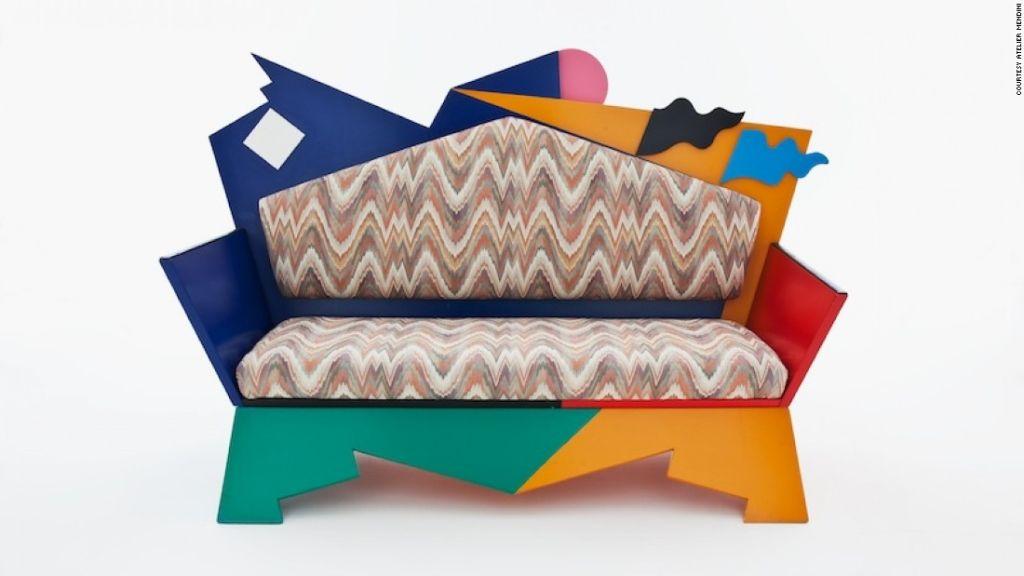 'Kandissi Sofa', diseñado por el posmodernista Alessandro Mendini en 1973
