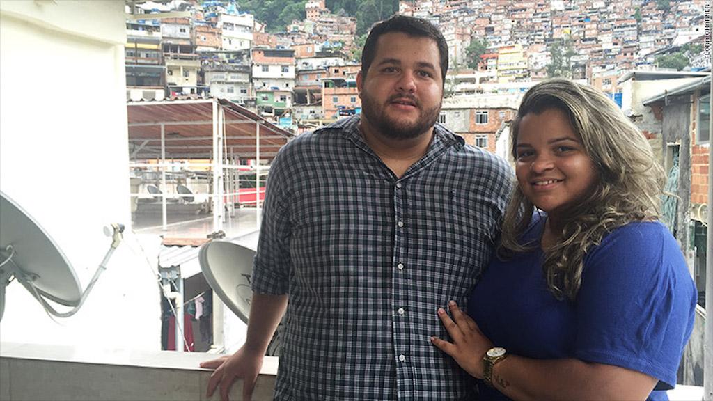 Bárbara Araujo y Allan Alves.