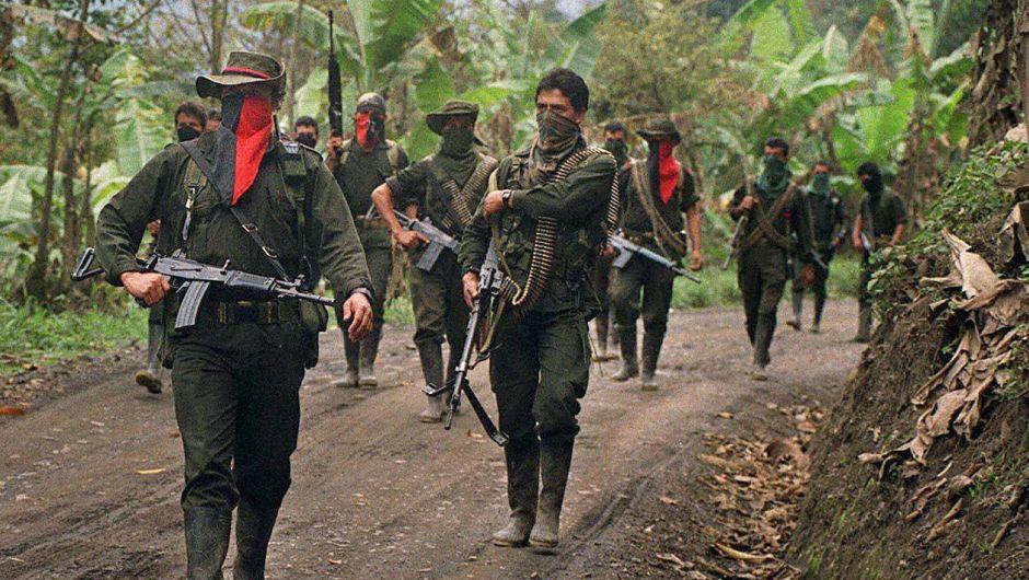 El Ejército de Liberación Nacional (ELN) es la segunda guerrilla más grande de Colombia, después de las FARC.