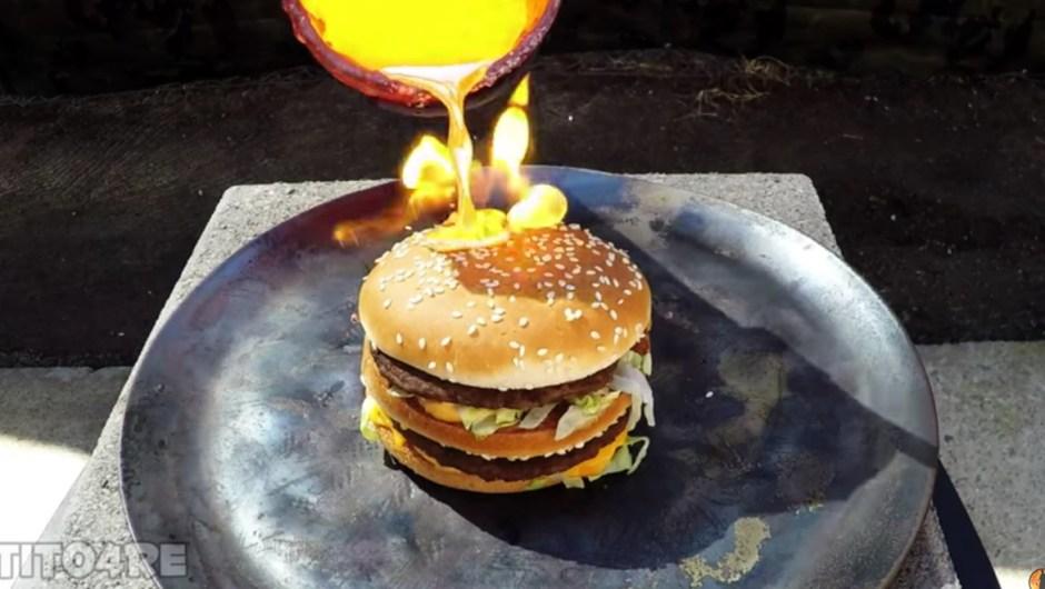 Hamburguesa McDonald's Cobre