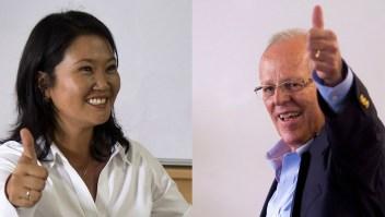 Keiko Fujimori y Pedro Pablo Kuczynski se enfrentaría en segunda vuelta en las elecciones presidenciales de Perú.