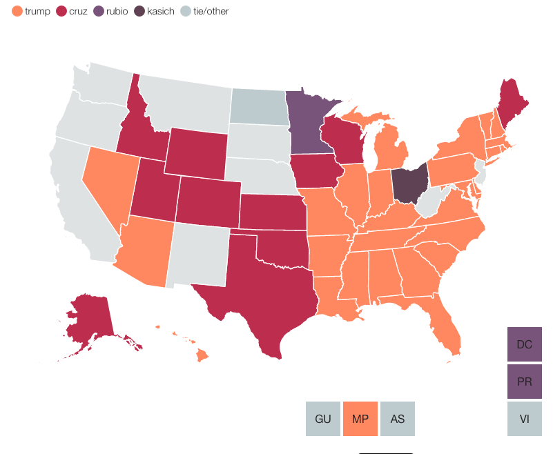 mapa republicano 3 mayo 7pm