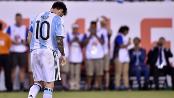Lionel Messi (Crédito: NELSON ALMEIDA/AFP/Getty Images)