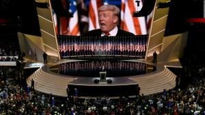 """Donald Trump: """"Yo soy el candidato de la ley y el orden"""""""