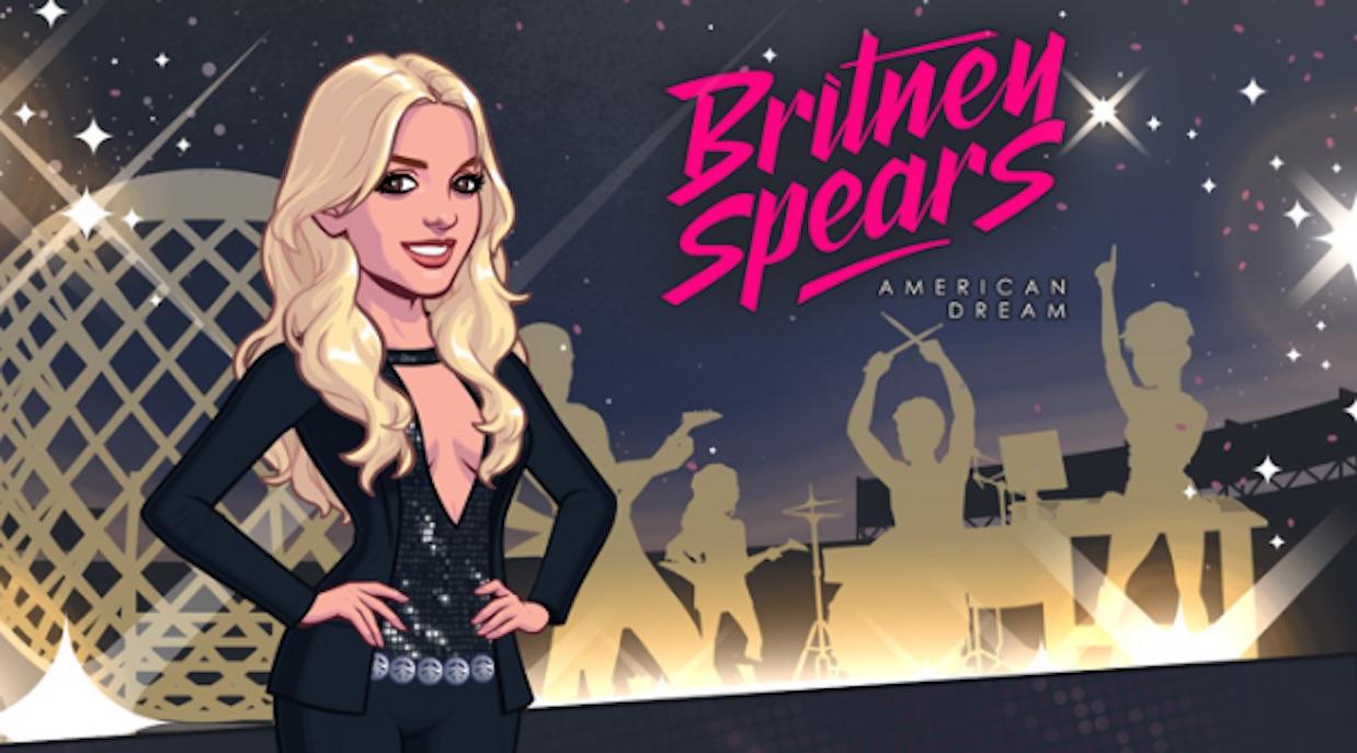 """La princesa del pop tiene un videojuego llamado """"Britney Spears: American Dream"""". (Crédito: Glu)"""