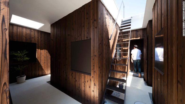 Usando materiales naturales como la madera de cedro y terrazo, Atelier Tekuto creó una morada inspirada en la naturaleza para una familia japonesa.