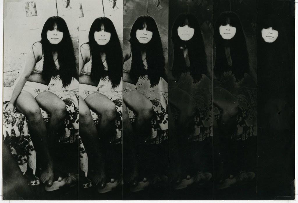 Serie 'Prostitutas', fotomontaje. 1970-1972. (Crédito: Cartier)