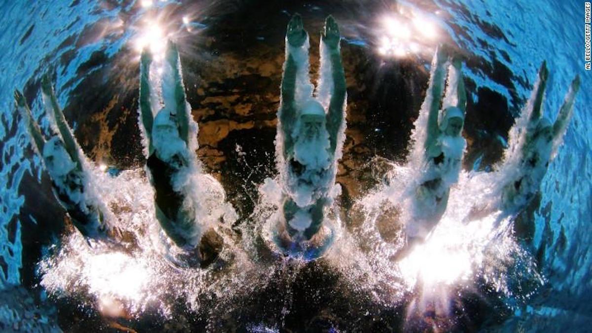 Las cámaras pueden hacer acercamientos y tomar varios ángulos durante la competencia. (Crédito: Getty Images)