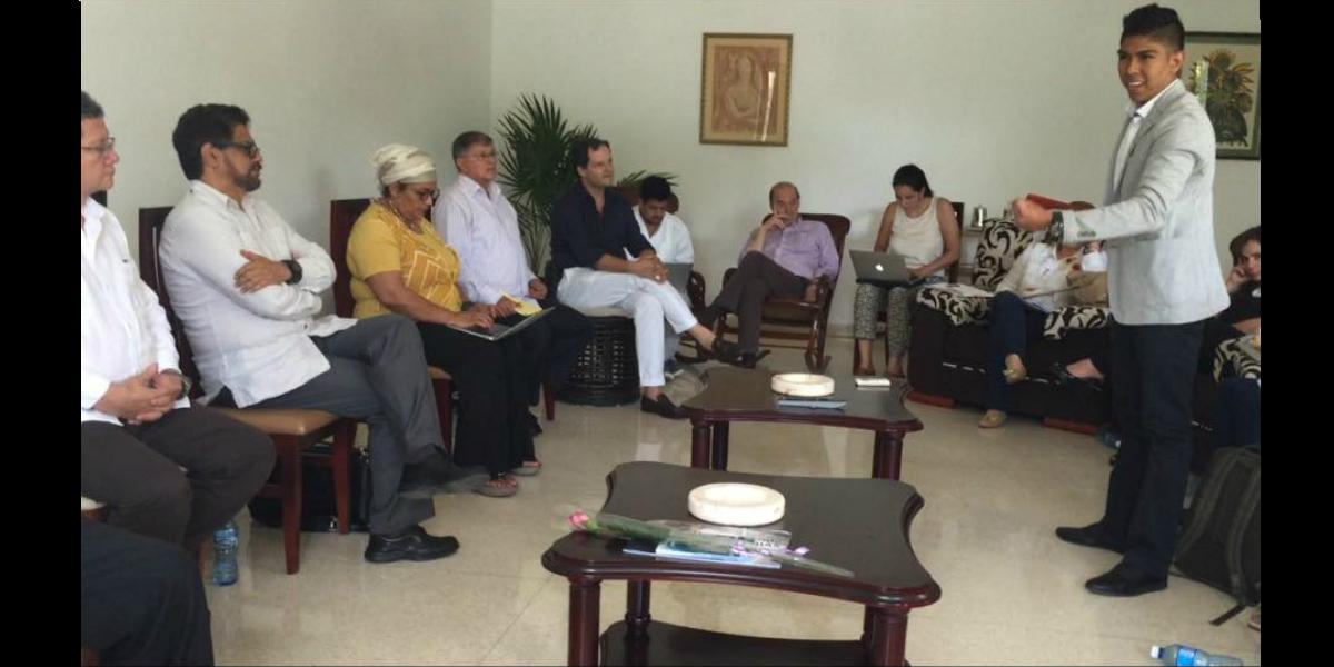 Al encuentro en La Habana asistieron representantes de las familias de los diputados.