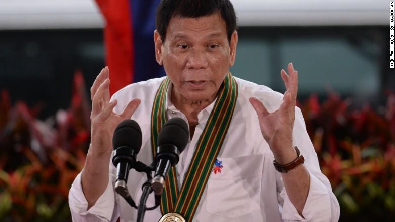 El presidente filipino, Rodrigo Duterte, ha impulsado una brutal guerra contra las drogas.