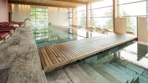 Vigilius Mountain Resort, lujo ecológico en el Tirol del sur, Italia.