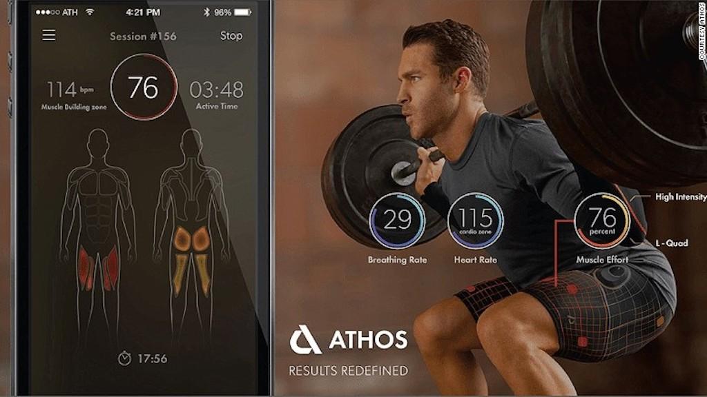 Las prendas de alta tecnología permiten saber en qué parte del cuerpo se está trabajando durante el entrenamiento.