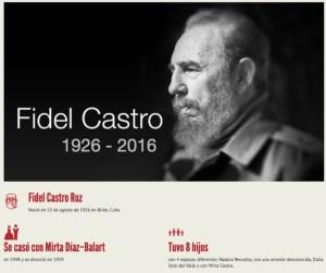 Lee: Fidel Castro en 16 datos.