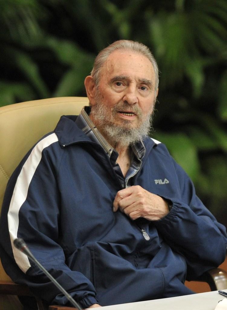 19 de abril de 2011   Fidel Castro durante el VI Congreso del Partido Comunista de Cuba. (Crédito: ADALBERTO ROQUE/AFP/Getty Images)