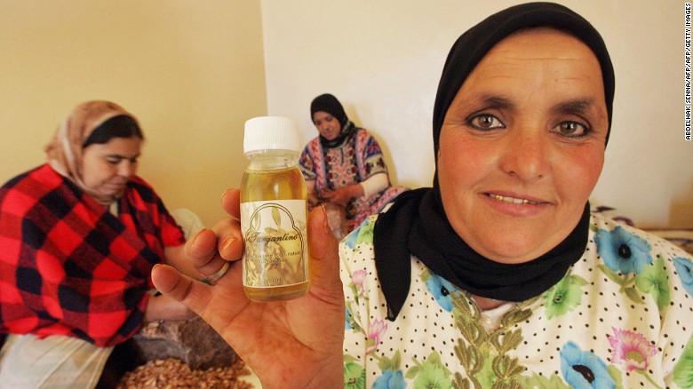 En Marruecos, el aceite de Argán se ha utilizado para la cocina, medicina y belleza durante miles de años.