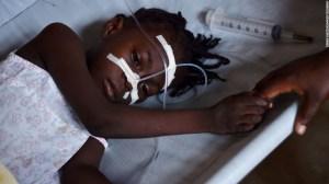 La epidemia de cólera dejó al menos 10.000 muertos en Haití.