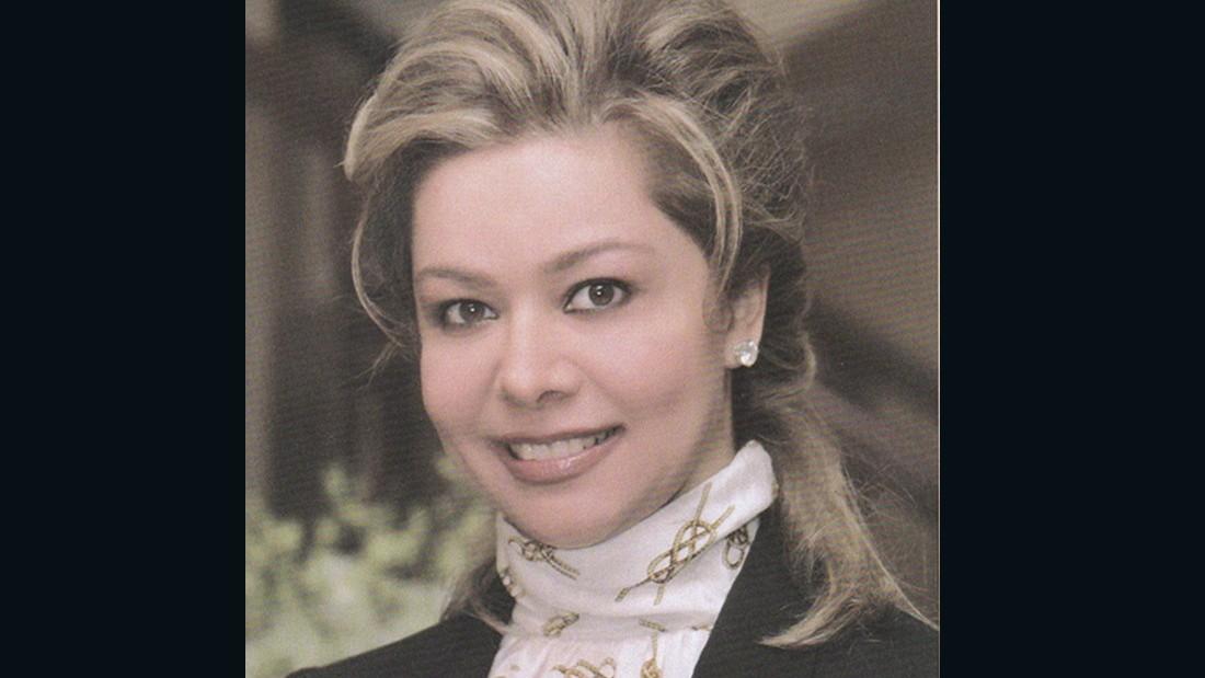 Raghad, hoy de 48 años, es la hija mayor del derrocado líder iraquí Saddam Hussein.