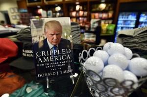 El más reciente libro de Donald Trump salió a la venta en noviembre de 2015. (Crédito: JOSH EDELSON/AFP/Getty Images)