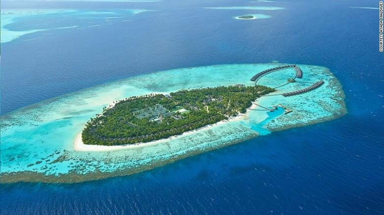 Atolón Gaafu Dhaalu (Maldivas).