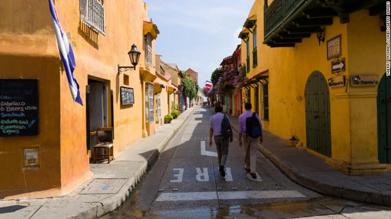 Cartagena, con las fascinantes calles de su centro histórico, es el mayor destino turístico de Colombia.