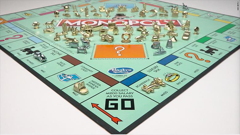 Por primera vez en la historia de la marca, que ya completa 82 años, Monopolio está permitiendo que el público decida si todas las piezas del juego deben ser reemplazadas por algo nuevo.