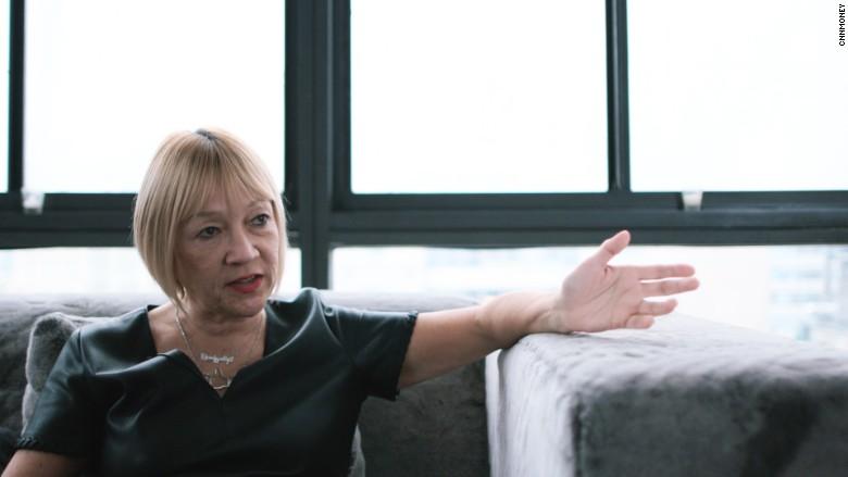 Cindy Gallop.