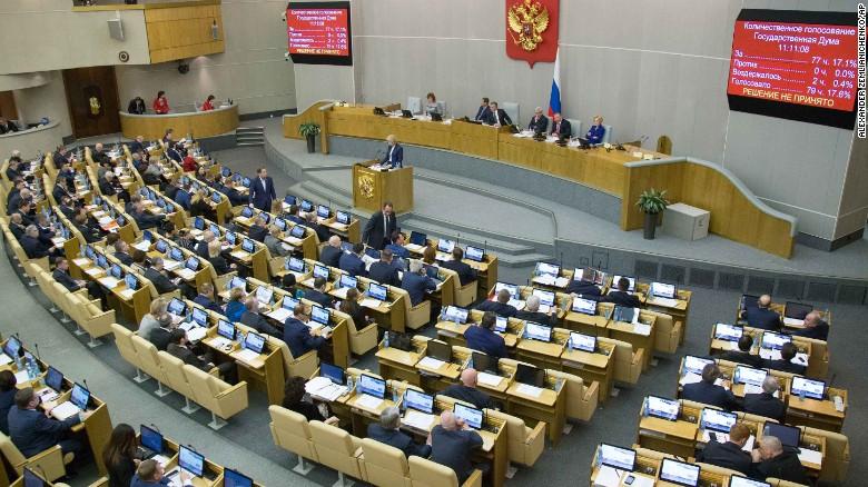 La Duma ha aprobado el proyecto en dos lecturas.