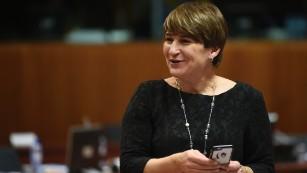 Lilianne Ploumen, ministra de Comercio Exterior y Cooperación para el Desarrollo de Holanda.