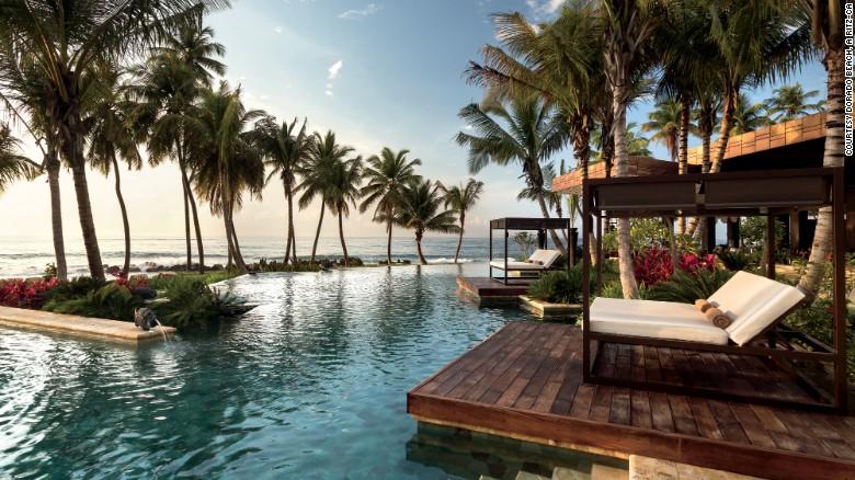 Algunas de las suites del Hotel Dorado Beach Ritz-Carlton en Puerto Rico tienen piscina privada.