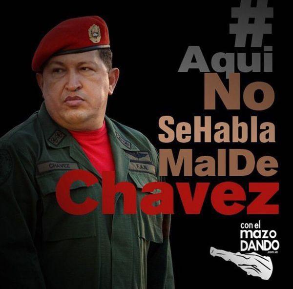 La campaña #AquíNoSeHablaMalDeChávez fue lanzada este 25 de enero por el hombre fuerte del oficialismo en Venezuela, Diosdado Cabello.