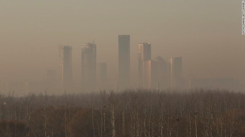 Beijing es una de las ciudades más contaminadas del planeta.