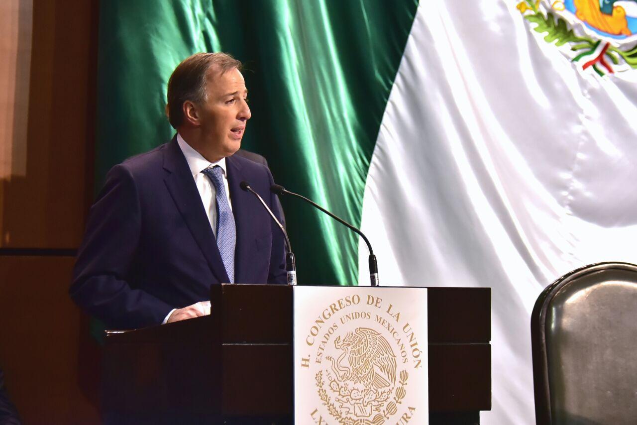 El secretario de Hacienda y Crédito Público de México, José Antonio Meade Kuribreña. Crédito: Secretaría de Hacienda y Crédito Público
