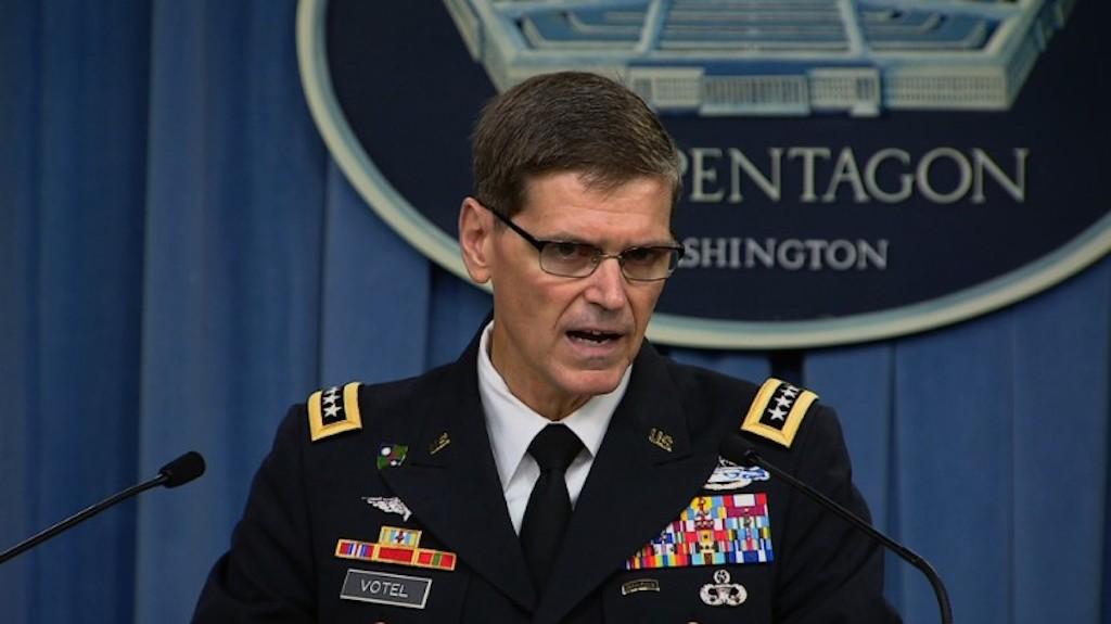 Foto del general Joseph Votel, del Comando Central de Estados Unidos.