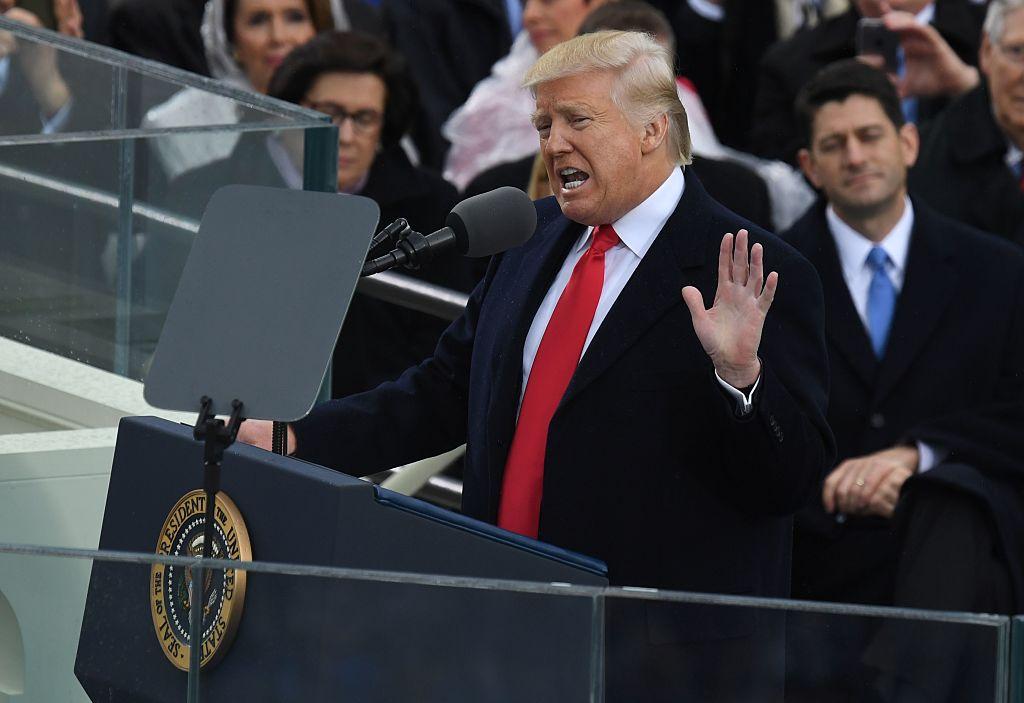 El discurso de Donald Trump estuvo cargado de alusiones al cambio radical que, asegura, experimentarán los estadounidenses a partir de hoy.