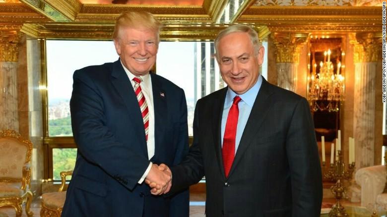 El presidente Donald Trump y el primer ministro israelí Benjamin Netanyahu, en una reunión anterior a la toma de posesión.