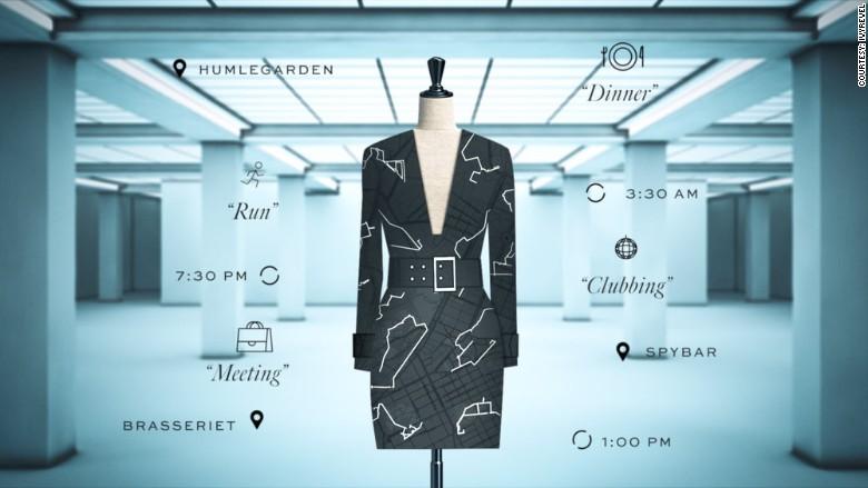 La aplicación de Android para diseñar vestidos está siendo probada por usuarios que recibirán sus vestidos el próximo mes.