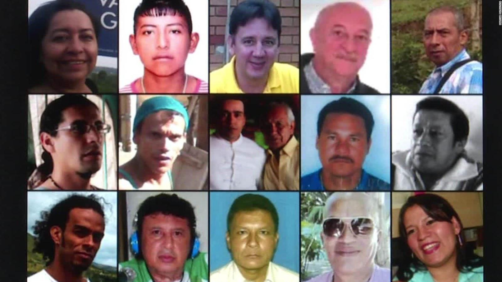 Asesinato de líderes sociales y defensores de derechos humanos en Colombia.