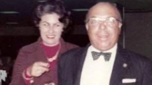 Carlos Caballero y su esposa.