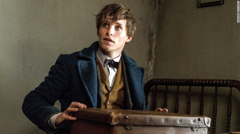 Eddie Redmayne en 'Fantastic Beasts and Where to Find Them'