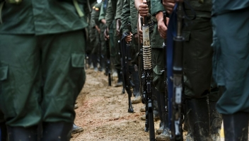 El Ministerio de Defensa de Colombia estima que el 5% de las FARC son disidentes y no se acogerán a los acuerdos de paz de La Habana. (Crédito: LUIS ROBAYO/AFP/Getty Images)