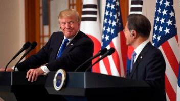 Donald Trump y Moon Jae-in en una imagen de archivo