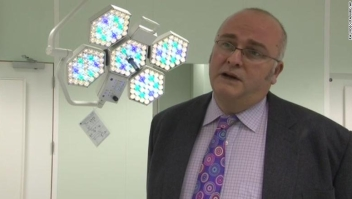 Simon Bramhall court case. Screen grabbed image taken from PA Video dated 22/11/10 of Simon Bramhall, a specialist surgeon, who has admitted a charge of assault by beating at Birmingham Crown Court after marking his initials on the livers of two patients during transplant operations. Issue date: Thursday December 14, 2017. See PA story COURTS Liver. Photo credit should read: PA Video/PA Wire URN:34145079