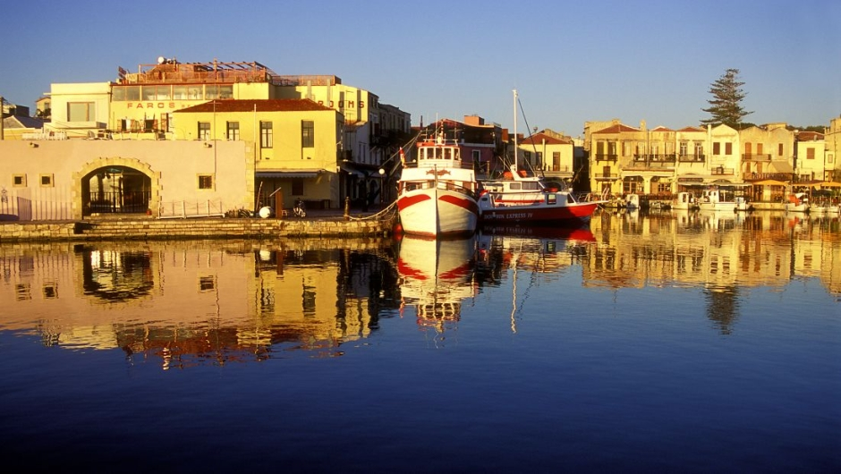 Crete, Greece: Blessed with sunshine, cultural history and archaeological treasures, Crete also has picturesque cities like Rethymno.