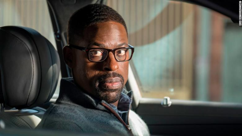 "THIS IS US -- ""Number Three"" Episode 210 -- Pictured: Sterling K. Brown as Randall -- (Photo by: Ron Batzdorff/NBC)"