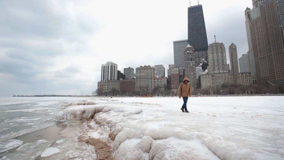 <> on January 3, 2018 in Chicago, Illinois.