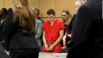 Nikolas Cruz ante el juzgado del condadod e Broward. (Crédito: Mike Stocker/South Florida Sun-Sentinel via AP, Pool)