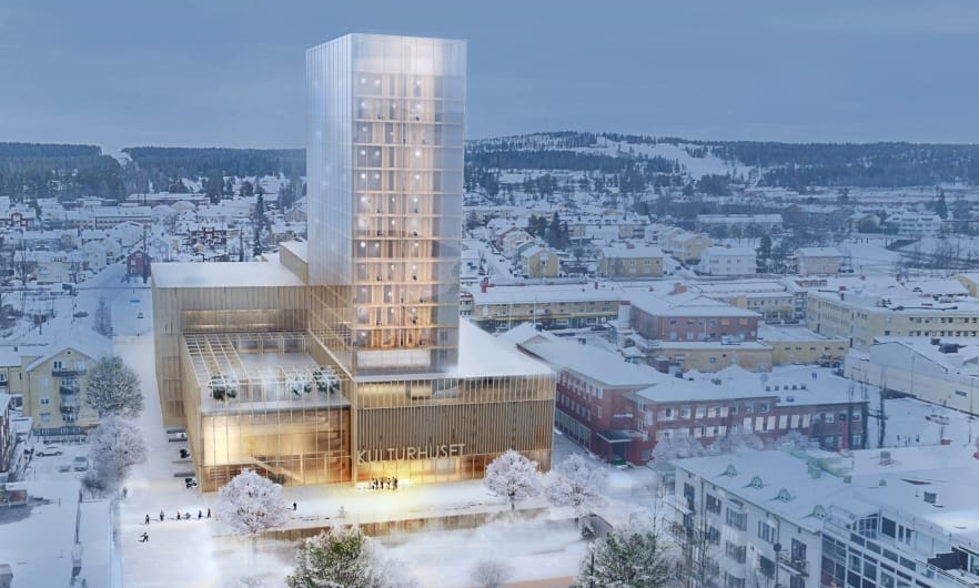 """El """"Sida Vid Sida"""" (de lado a lado"""") es un proyecto propuesto por los arquitectos suecos White Arkitekter. Foto: cortesía de White Arkitekter."""